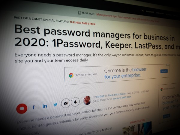 Best password managers for business in 2020