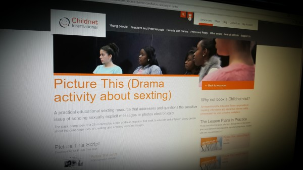 Picture This (Drama activity about sexting)