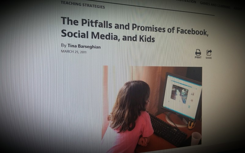 The Pitfalls and Promises of Facebook, Social Media, and Kids