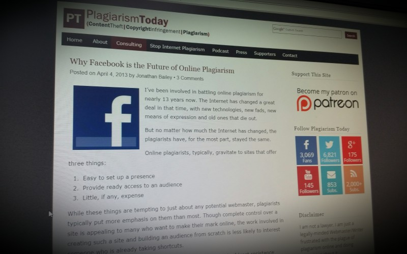 Why Facebook is the Future of Online Plagiarism