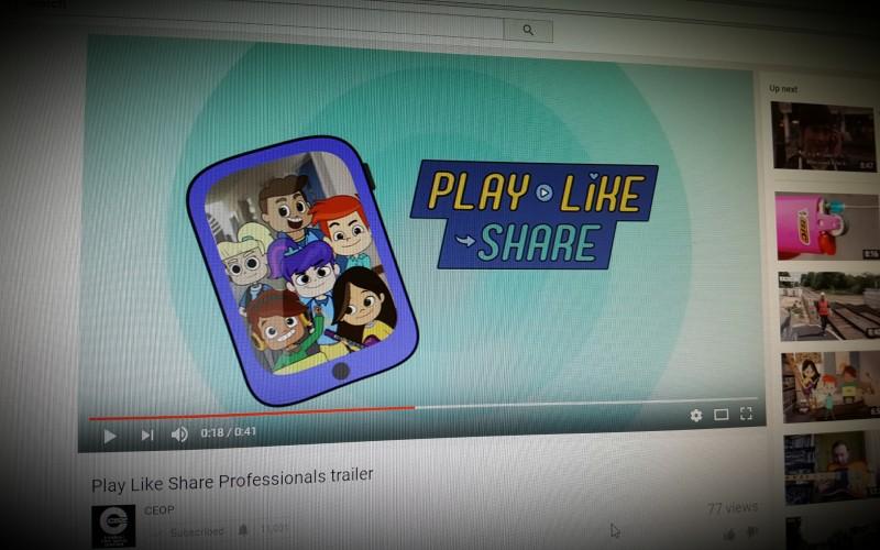New CEOP Resource: Play Like Share