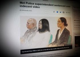 Met Police superintendent sentenced over indecent video
