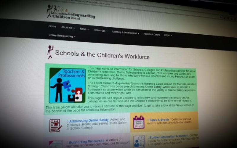 Collection of online safeguarding policies and guidance resources