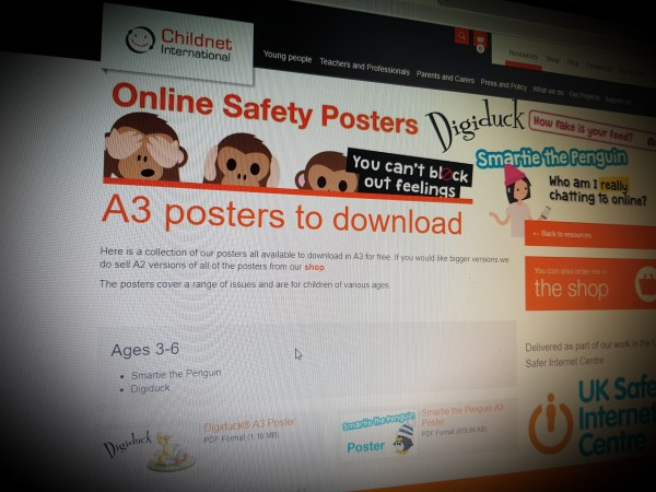 Online safety posters