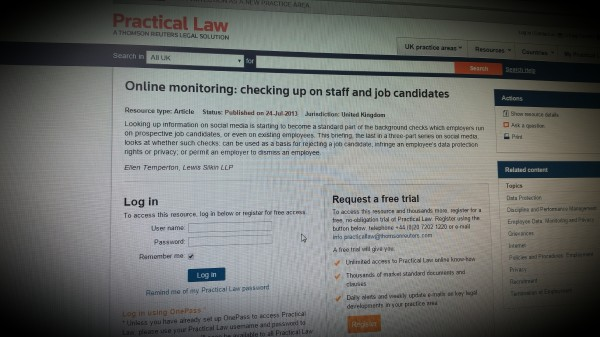 Online monitoring: Checking up on staff and job candidates