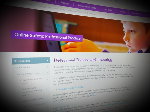 Online Safety: Professional Practice