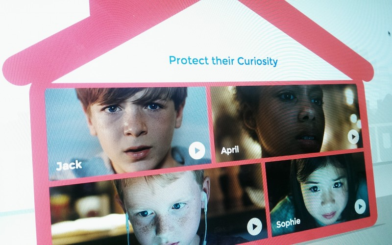 Protect their curiosity. Videos to help parents and carers protect their children.