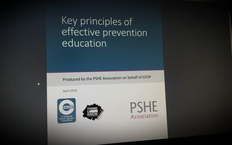 Key principles of effective prevention education - ceop/pshe association report.