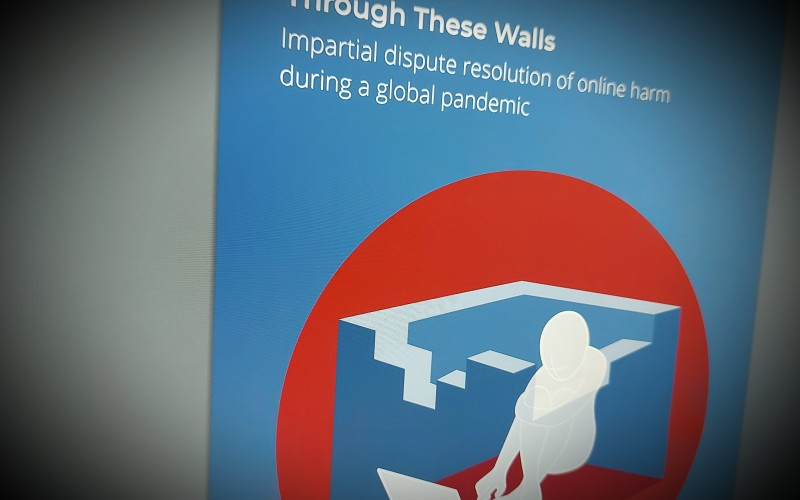 Through These Walls - Report Harmful Content annual report