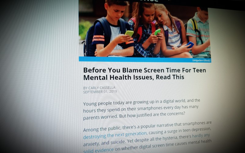 Before You Blame Screen Time For Teen Mental Health Issues, Read This