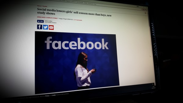 Social media lowers girls' self-esteem more than boys, new study shows