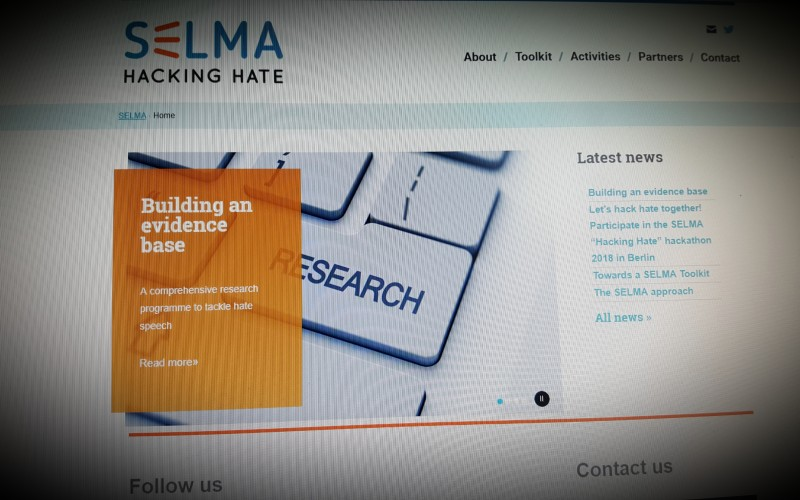 SELMA: Hacking Hate