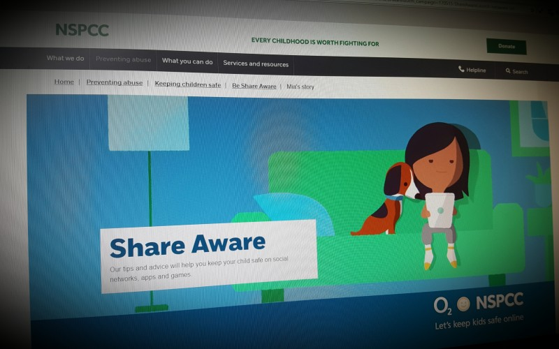 Share Aware. NSPCC tips and advice will help you keep your child safe on social networks, apps and games.