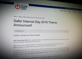 Safer Internet Day 2018 Theme Announced!