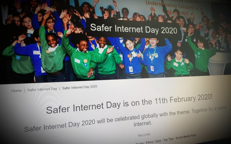 Safer Internet Day is on the 11th February 2020