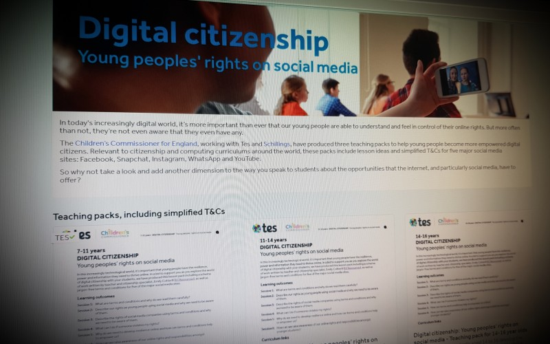 Young People's Rights on Social Media