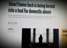 Smart home tech is being turned into a tool for domestic abuse
