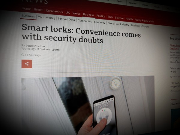 Smart locks: Convenience comes with security doubts