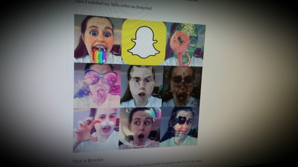 """My Little Sister Taught Me How To """"Snapchat Like The Teens"""""""