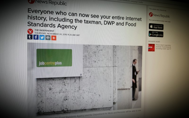 Everyone who can now see your entire internet history, including the taxman, DWP and Food Standards Agency