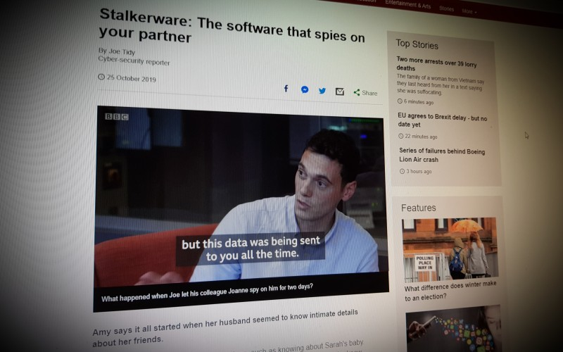 Stalkerware: The software that spies on your partner