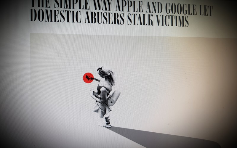 The Simple Way Apple and  Google Let Domestic Abusers Stalk Victims