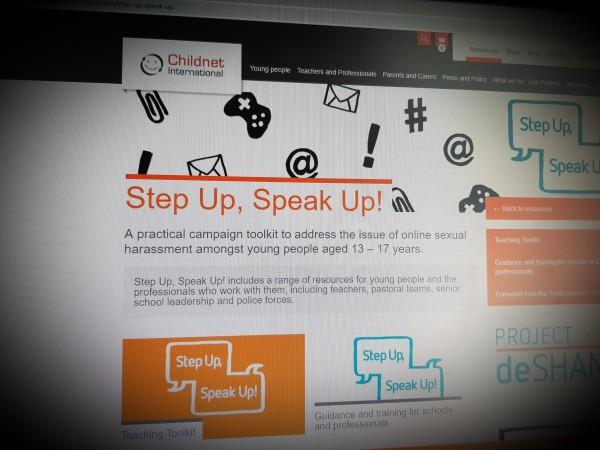 Step Up, Speak Up!
