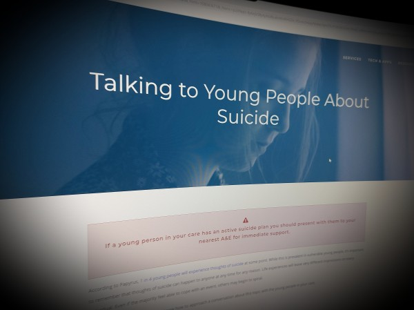 Talking to Young People About Suicide