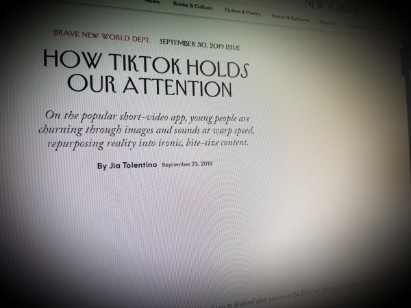 How TikTok Holds Our Attention