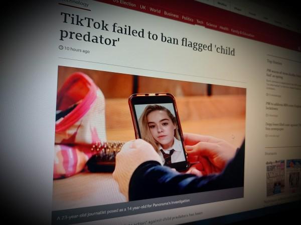 TikTok failed to ban flagged 'child predator'