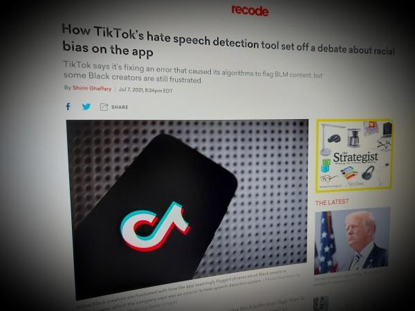 TikTok's hate speech detection tool set off a debate about racial bias
