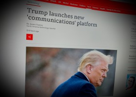 Trump launches new 'communications' platform