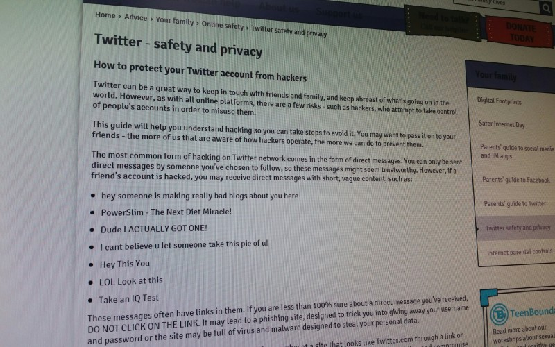 Twitter - safety and privacy How to protect your Twitter account from hackers