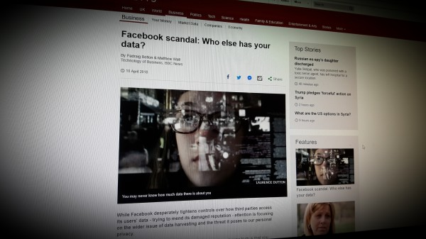 Facebook scandal: Who else has your data?