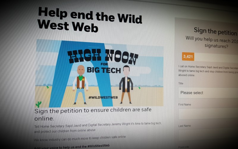 Help end the Wild West Web