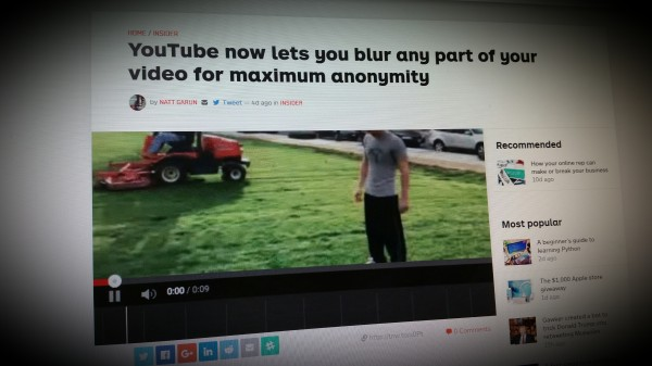 YouTube now lets you blur any part of your video for maximum anonymity