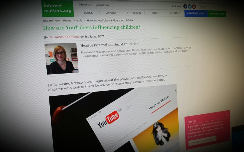 How are YouTubers influencing children?